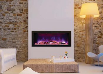 Deep Electric Fireplace – BI-40-DEEP – Size: 40″
