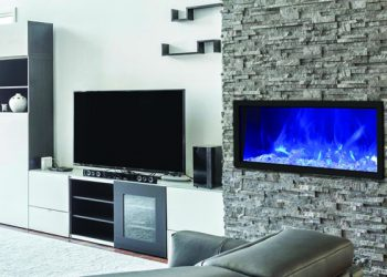Amantii Slim Electric Fireplace – BI-40-SLIM – Size: 40″
