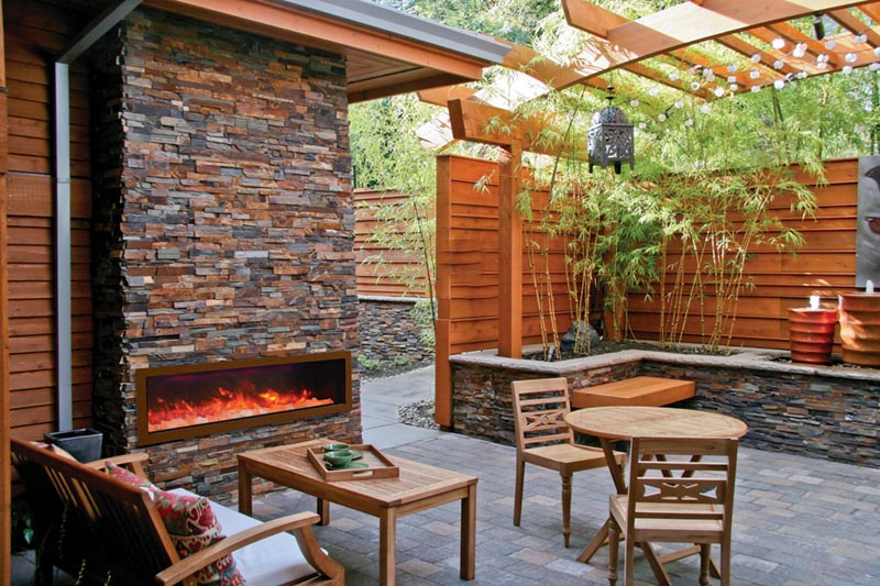 outdoor electric fireplaces sale