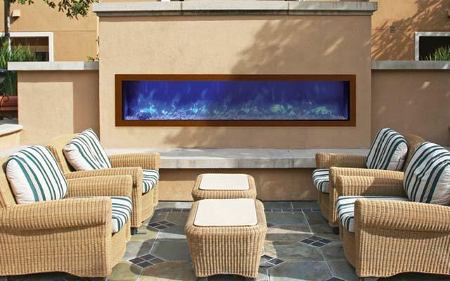 lime stone surround gas fireplace toronto