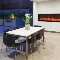 Toronto Modern Glass Electric Fireplaces