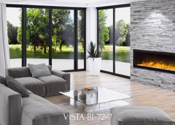 "Amantii Electric Fireplace – VISTA-BI-72-7 sizes: 50"",60"",72"""