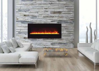 Electric Fireplace – WM-FM-50-BG – Size: 50″
