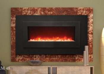 LINEAR ELECTRIC FIREPLACE WM-FML-48 – SIZE 48″ x 27″