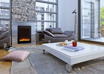 Zero Clearance Electric Fireplace ZECL-2939-BG – Size: 29″ x 39″