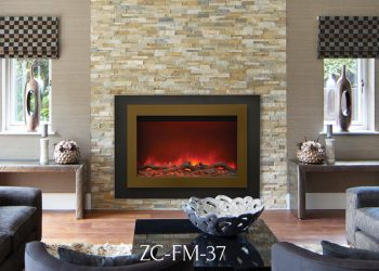 Zero Clearance Electric Fireplace – ZC-FM-37 – 37″ x 26″ Surround