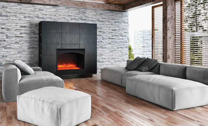 designed for new or renovation projects the electric zero clearance an excellent alternative choice to gas or wood fireplaces - Electric Fireplaces Clearance