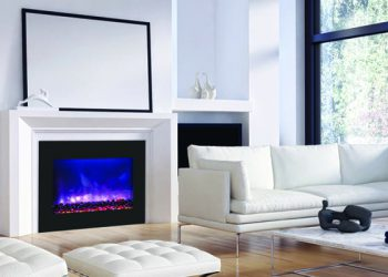 Zero Clearance Electric Fireplace – ZECL-39-4134-BG – size: 39″