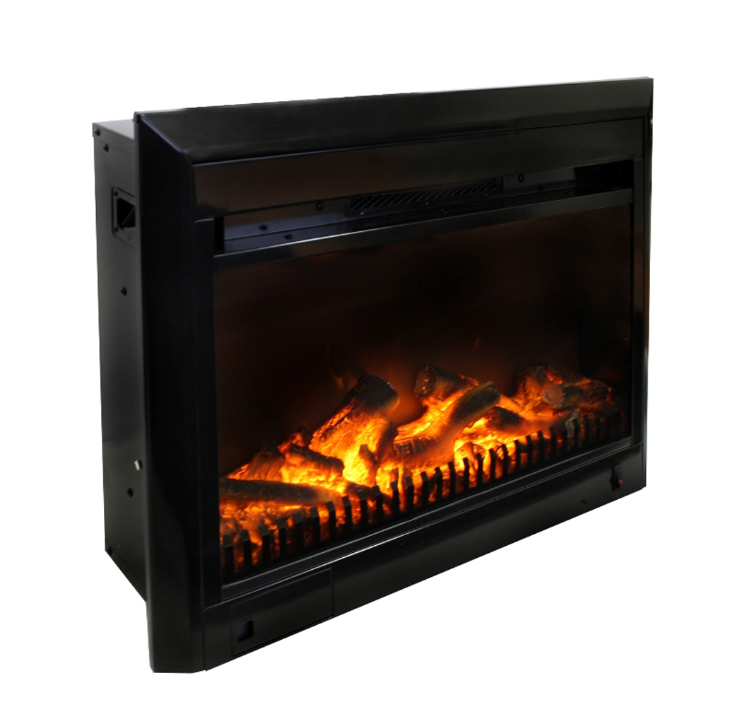 25 Insert With Integrated Trim Kit Now With Led Electric Fireplaces Toronto