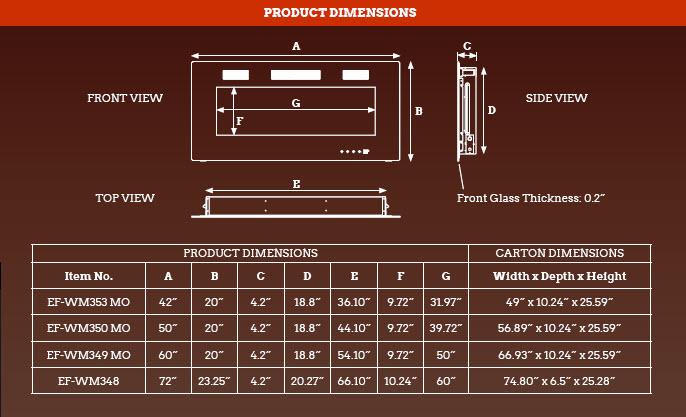 Premium-collection-dimensions