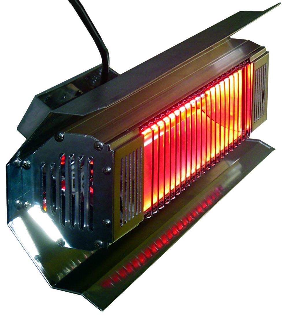 1500 Watt Commercial Grade Wall Mounted Infrared Heater
