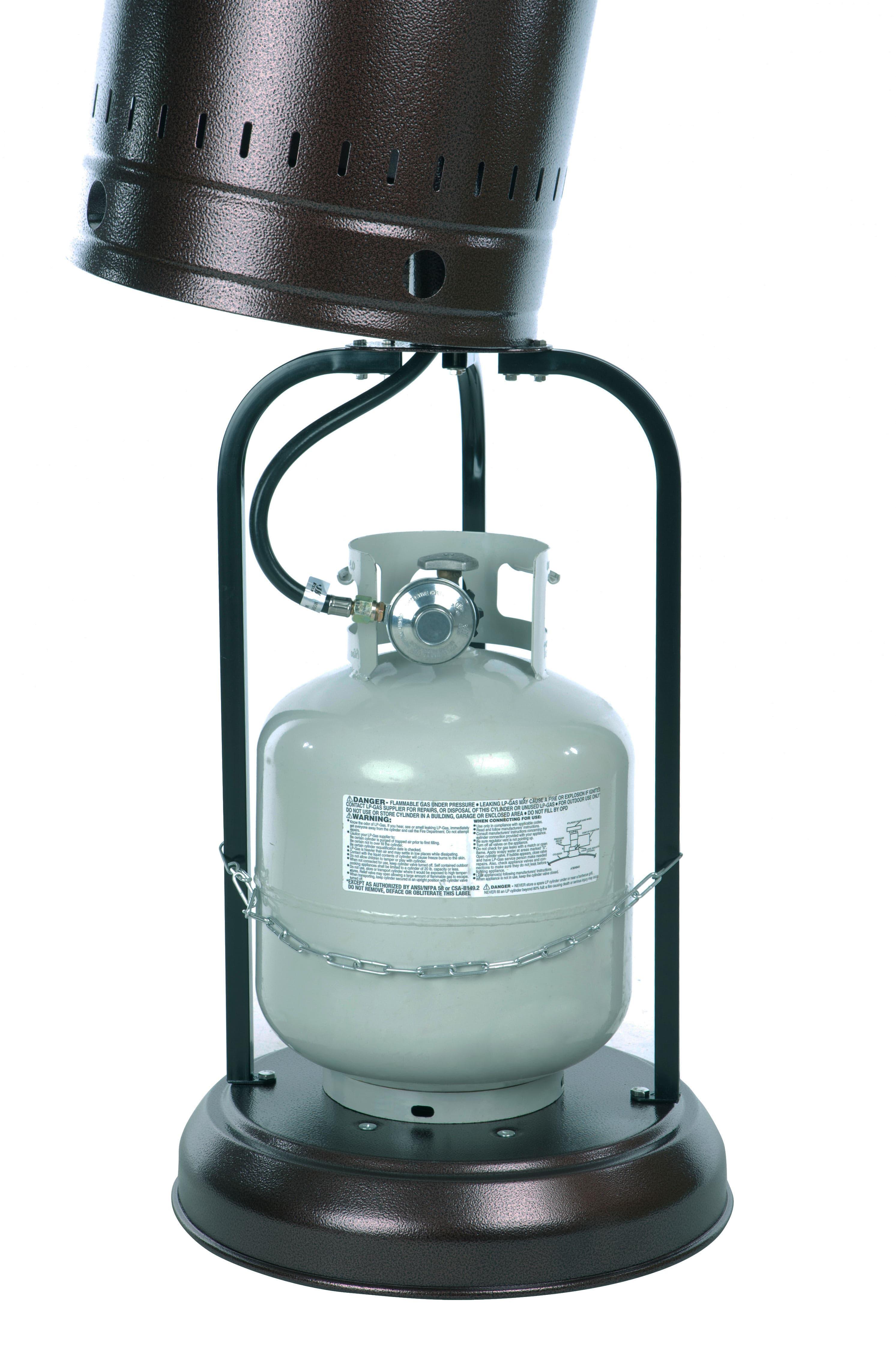 46 000 Btu Mocha Propane Patio Heater Electric