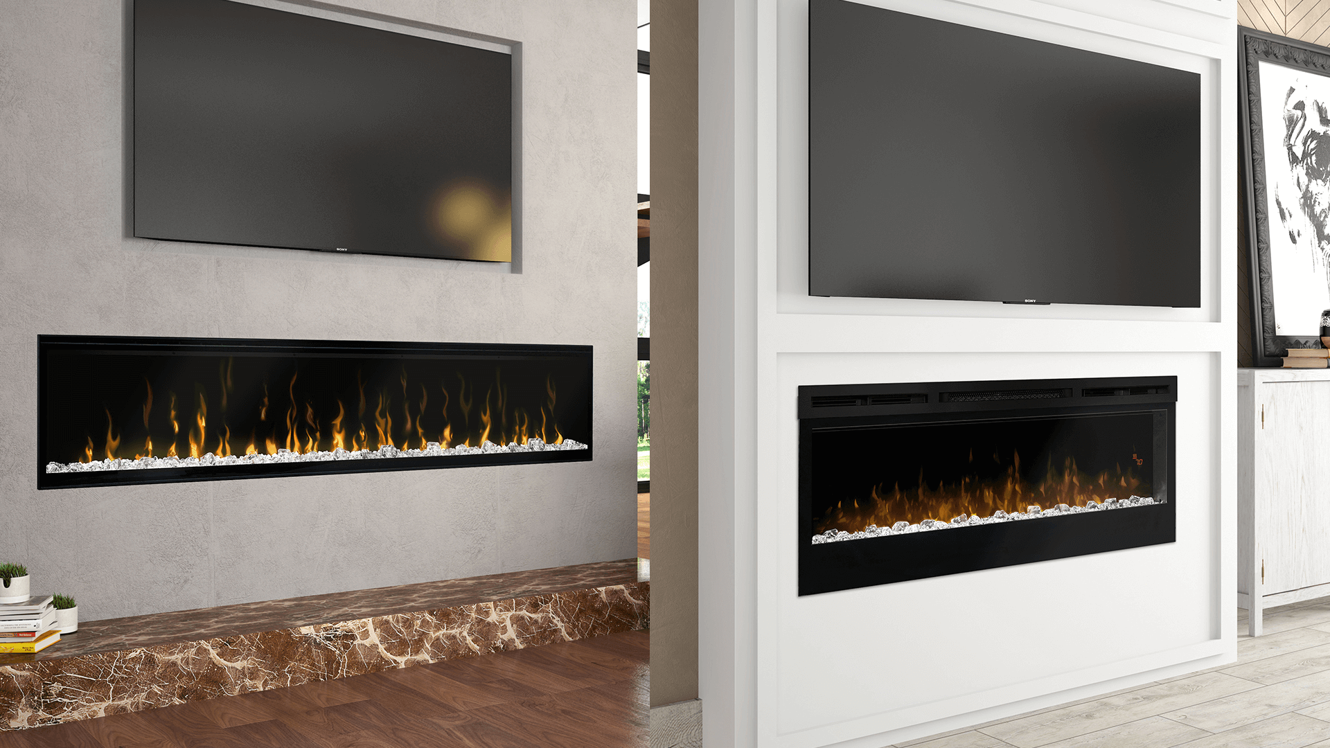 electric fireplaces dimplex