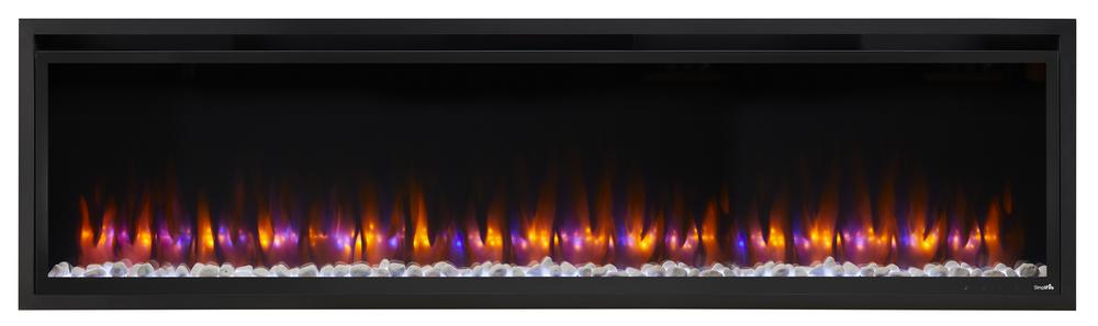 Allusion Platinum 72 blue orange flame