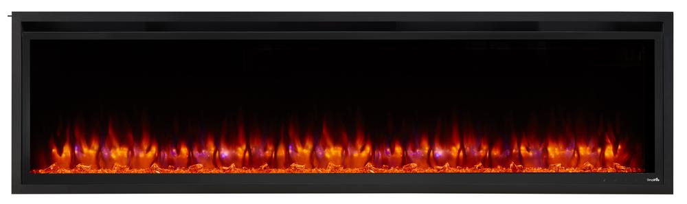 Allusion Platinum 72 orange blue flame