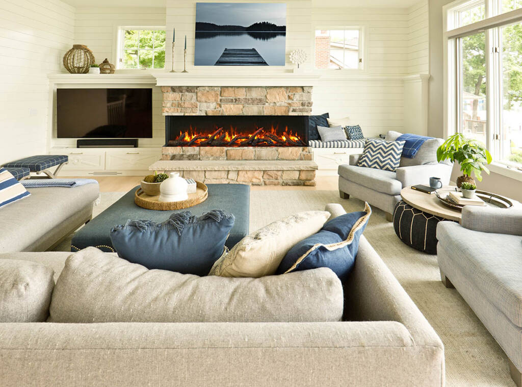 Build in fireplace by Electric Fireplace Toronto