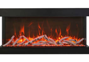 "50"" - 3 sided glass fireplace 50-TRV-XT-XL"