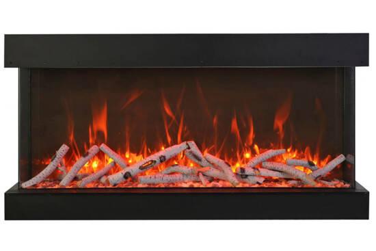 "88"" - 3 sided glass fireplace 88-TRV-XT-XL"