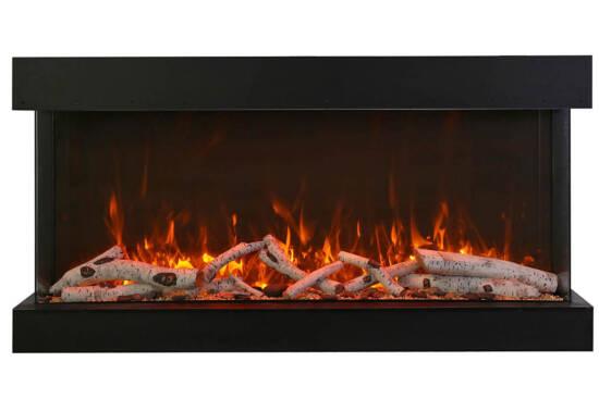 "60"" - 3 sided glass fireplace 60-TRV-XT-XL"
