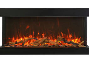 "40"" - 3 sided glass fireplace 40-TRV-XT-XL"