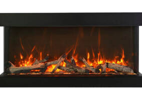 "72"" - 3 sided glass fireplace 72-TRV-XT-XL"