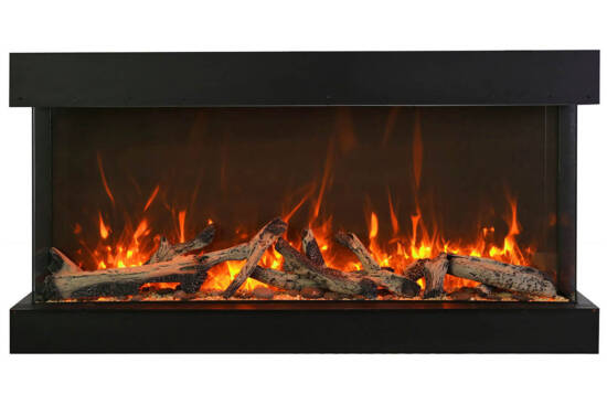 "72"" - 3 sided glass fireplace 72-TRV-XT-XL"