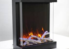 29'' width 3 sided glass fireplace 2939-TRU-VIEW-XL
