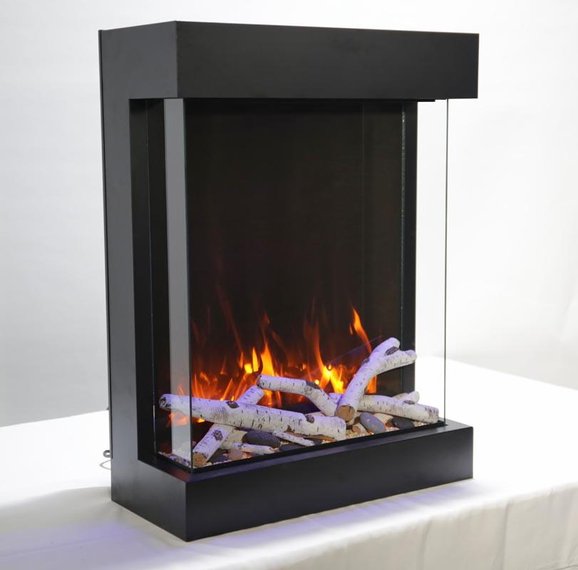 29'' width 3 sided glass fireplace 2939-TRU-VIEW-XL