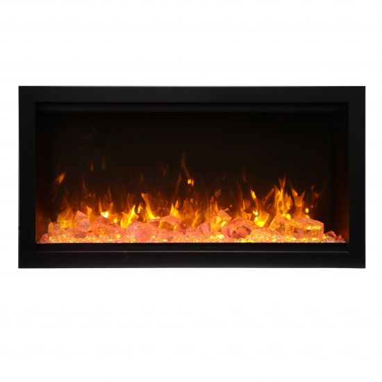 """34"""" Extra Tall Electric Fireplace Built-in SYM-34-XT"""